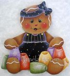 Gumdrop Gingerbread Girl e-Pattern