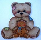 Teddys Gingerbread Friend e-Pattern