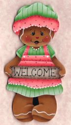 Gingerbread Welcome e-Pattern