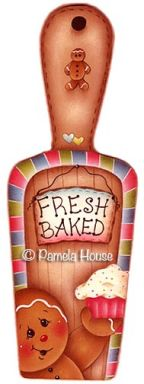 Fresh Baked Gingerbread  Ornament Blank