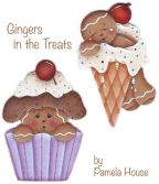 Gingers in the Treats Gingerbread e-Pattern DOWNLOAD