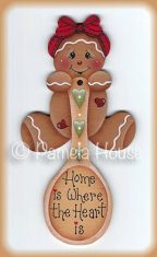 Home Is Where the Heart Is Ginger e-Pattern DOWNLOAD
