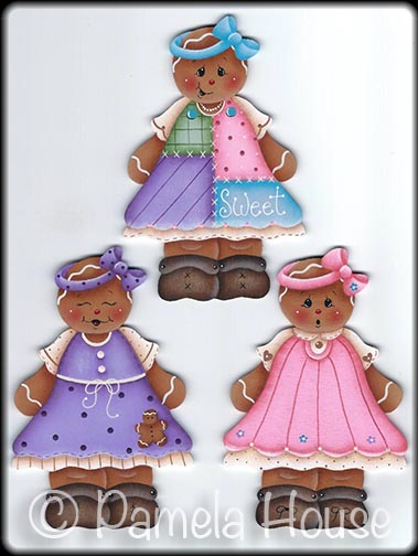Dressed Up Ginger Girls e-Pattern