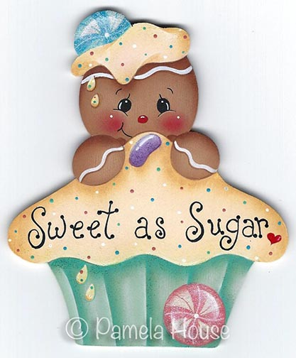 Sweet as Sugar Ginger e-Pattern DOWNLOAD