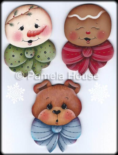 Sweet Faces Ornament e-Pattern DOWNLOAD