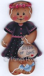 Seeds of Love Ginger Girl e-Pattern DOWNLOAD
