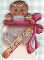 Spice Jar Ginger e-Pattern DOWNLOAD