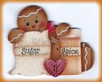 Sugar and Spice Ginger Pattern BY DOWNLOAD