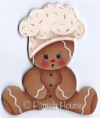 Baby Ginger Chef e-Pattern DOWNLOAD