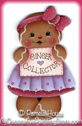 Ginger Collector Pattern BY DOWNLOAD
