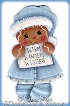 Warm Winter Wishes Ginger Pattern BY DOWNLOAD