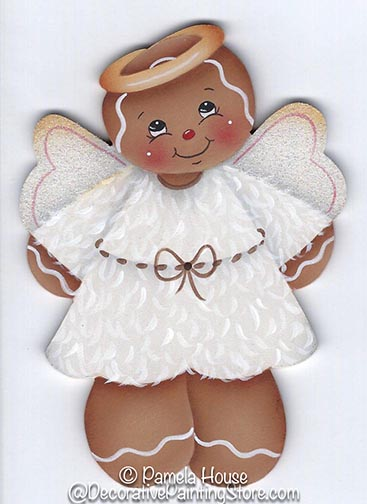 Lil Ginger Angel Pattern BY DOWNLOAD