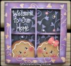 Welcome Home Ginger Plaque Pattern BY DOWNLOAD