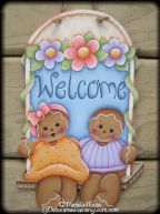 Gingerbread Welcome Swing Pattern BY DOWNLOAD