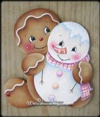 Sweet Pals Ginger Ornament Pattern BY DOWNLOAD