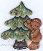 Decorating the Tree Ginger Ornament Pattern BY DOWNLOAD