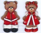 Christmas Bears Pattern BY DOWNLOAD