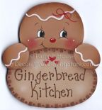 Gingerbread Kitchen Pattern BY DOWNLOAD