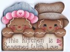Seasoned with Love Gingers Pattern BY DOWNLOAD