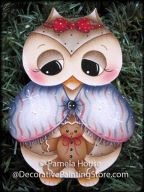Owl and Little Ginger Pattern BY DOWNLOAD