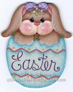 Bunnys Easter Egg Pattern BY DOWNLOAD