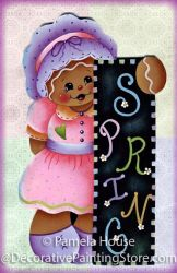 Ready for Spring Ginger Pattern BY DOWNLOAD