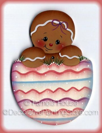 Gingers Easter Egg Pattern - Pamela House - BY DOWNLOAD