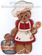 Mamas Ginger Cookie Dough Pattern - Pamela House - BY DOWNLOAD