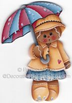Rainy Day Ginger Pattern - Pamela House - BY DOWNLOAD