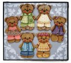 Teddy Bear Collection ePattern by Pamela House - BY DOWNLOAD