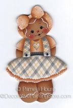 Pretty in Plaid Ginger ePattern by Pamela House - PDF DOWNLOAD