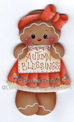Autumn Blessings Ginger ePattern by Pamela House - PDF DOWNLOAD