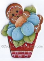Flower Pot Ginger ePattern by Pamela House - PDF DOWNLOAD