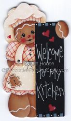 Welcome to My Kitchen ePattern by Pamela House - PDF DOWNLOAD