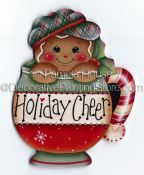 Holiday Cheer Ginger ePattern by Pamela House - PDF DOWNLOAD