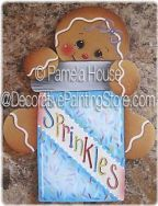 Sprinkles Ornament-Magnet by Pamela House - PDF DOWNLOAD