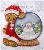Baby Ginger with Snow Globe by Pamela House - PDF DOWNLOAD