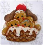 Waffle Bowl Ginger Family by Pamela House - PDF DOWNLOAD