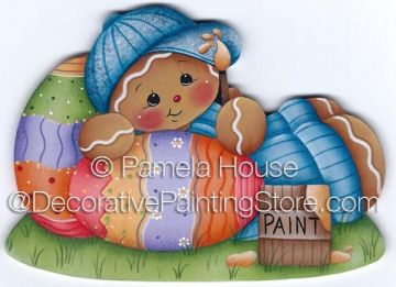 Painting Easter Eggs by Pamela House - PDF DOWNLOAD