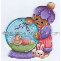 Easter Globe by Pamela House - PDF DOWNLOAD