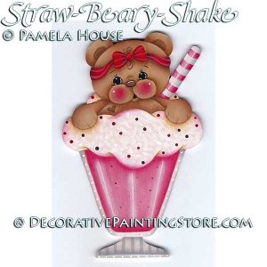 Straw-Beary-Shake by Pamela House - PDF DOWNLOAD