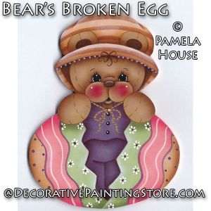 Bears Broken Egg by Pamela House - PDF DOWNLOAD