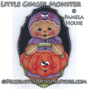Little Ginger Monster by Pamela House - PDF DOWNLOAD