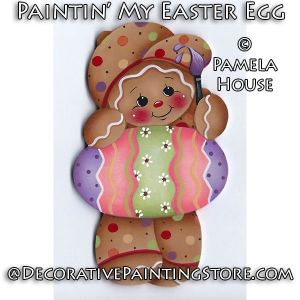 Paintin My Easter Egg by Pamela House - PDF DOWNLOAD