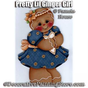 Pretty Lil Ginger Girl by Pamela House - PDF DOWNLOAD