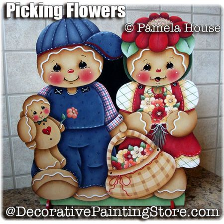 Picking Flowers by Pamela House - PDF DOWNLOAD