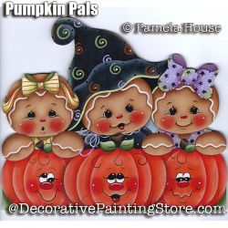 Pumpkin Pals by Pamela House - PDF DOWNLOAD