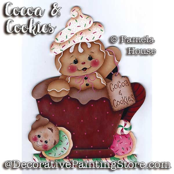 Cocoa and Cookies by Pamela House - PDF DOWNLOAD