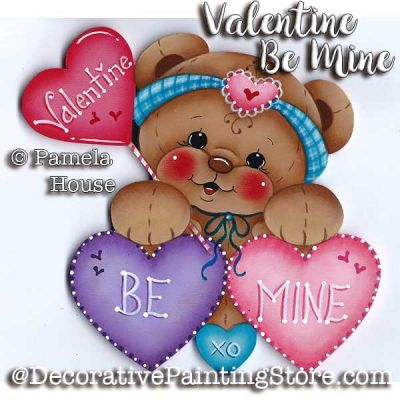 Valentine Be Mine e-Pattern - Pamela House - PDF DOWNLOAD