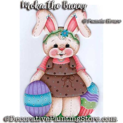 Moka the Bunny e-Pattern - Pamela House - PDF DOWNLOAD